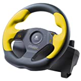 Logitech Wingman Formula GP Rubber Wheel with Pedals (game port)