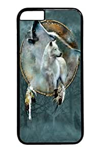 iPhone 6 Case, iPhone 6 Cases -Wolf Spirit Shield PC Hard Plastic Case for iPhone 6 Black
