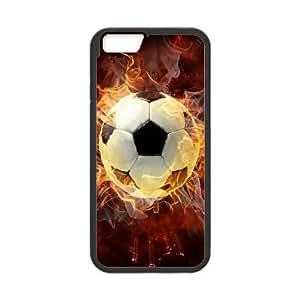 "LSQDIY(R) Soccer Ball iPhone6 4.7"" Case, Custom iPhone6 4.7"" Phone Case Soccer Ball"