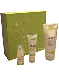 Murad Merry & Smooth Skin Holiday Kit Celavi Essence Facial Mask Paper Sheet Korea Skin Care Moisturizing 5 Pack Box (Aloe Vera)