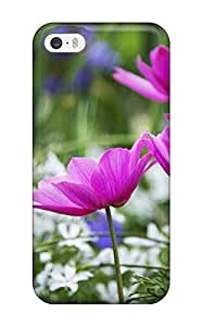 Iphone 5/5s QRznY1376LLRUP Nature And Flowers Tpu Silicone Gel Case Cover. Fits Iphone 5/5s