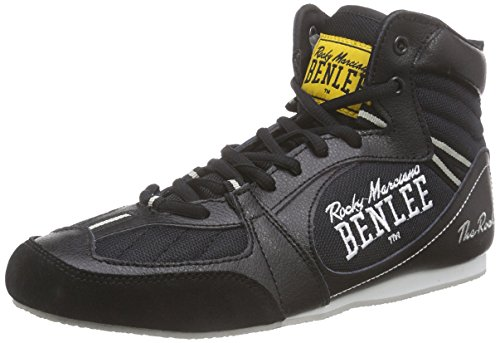 BENLEE Rocky Marciano, Scarpe da boxe Uomo The Rock Nero (black/concrete grey)