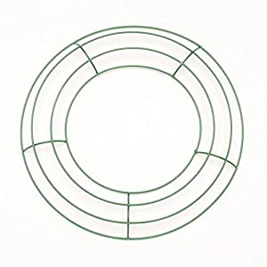 Metal Wreath Form - Green - 10 inches - 1 Piece 43