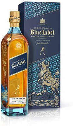 Johnnie Walker Blue Label Year Of The Ox Blended Scotch Whisky Limited Edition 40% Vol. 0.7L In Giftbox - 700 ml