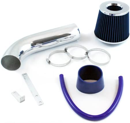 K/&N+BLUE RED 97-03 DODGE DAKOTA//DURANGO 3.9L V6 5.2L 5.9L V8 COLD AIR INTAKE 2F