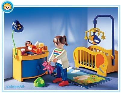 Playmobil - 3207 - La Maison Moderne - Maman / Chambre de bébé ...