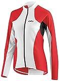 Louis Garneau - Women's Ventila Long Sleeve Cycling Jersey, White/Red/Black, X-Large