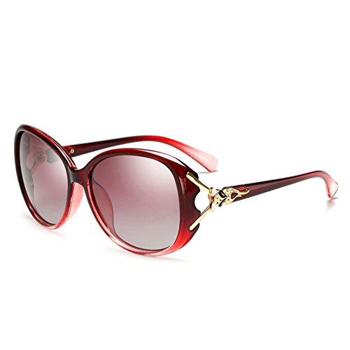 Caja Conducción Redonda Sol 4 de Gafas Gafas de Sol Gafas Vintage Cara Conductor de Gran Color Sol DT de 3 de Masculino Espejo zq401a