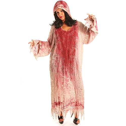 Disiao Women Zombie Bloody Living Dead Costume Cosplay Party for Adult -