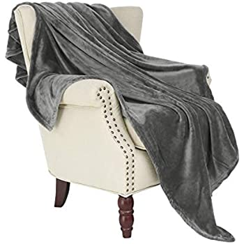 Amazon Com The Big One Oversized Plush Throw Gray Solid
