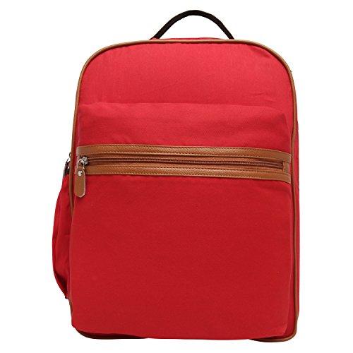main Sac Rouge Red au à porté Snoogg dos femme pour q8REd5z5