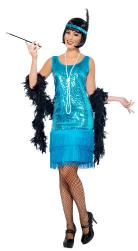 Roaring 20s Costumes- Flapper Costumes, Gangster Costumes  Flirty Flapper Costume  AT vintagedancer.com