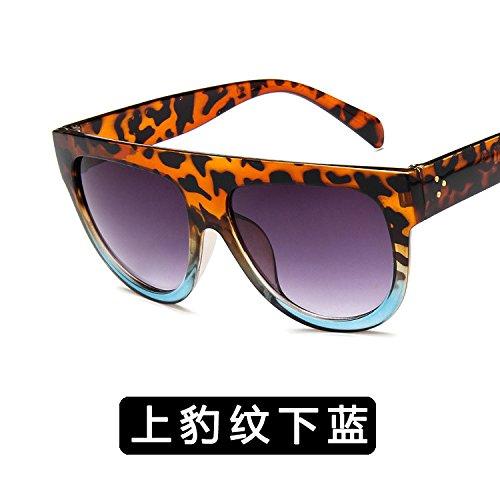 c Antique De zhenghao Leopard Ultravioleta Las Sunglasses 2 3 Xue Personalidad Sol Anti Gafas C wRO8q8xF