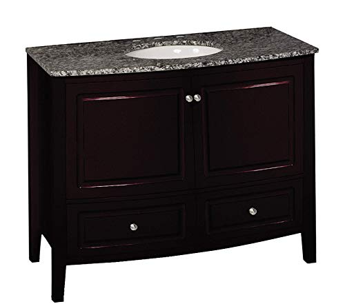 Wood & Style Furniture Single Finish Vanity Set 35.5