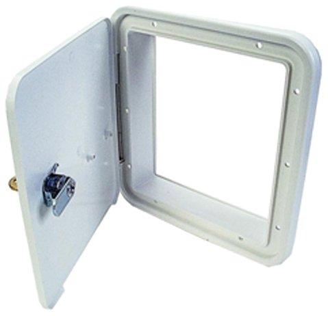 (JR Products 21102-A Polar White Multi-Purpose Hatch)