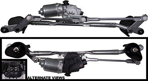 (APDTY 133987 Windshield Wiper Motor & Metal Transmission Link Linkage Assembly Fits 2007-2012 Dodge Caliber)