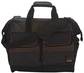 Amazon.com: Jeep concha – bolsa deportiva, color oliva/negro ...