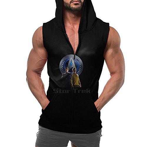 [Trevco Men's Star Trek Space Travel T-Shirt] (Make Black Widow Costumes)