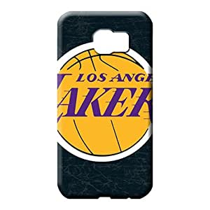 samsung galaxy s6 edge Brand Scratch-free trendy phone case skin losangeles lakers nba basketball
