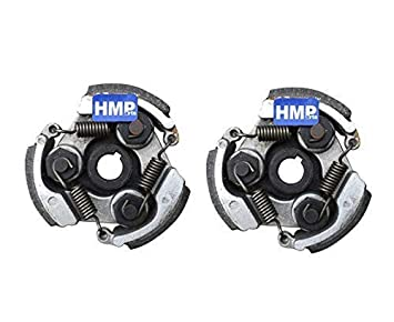 Hmparts Detalles 2X Embrague Centrífugo Embrague 47/49 Ccm Minimoto Moto de Cross Atv Quad: Amazon.es: Coche y moto