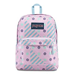 Featuring its classic silhouette, the JanSport SuperBreak is ultralight for everyday use. The backpack is available in more than 30 different colors and prints, perfect for every style of self expression.We're the original. JanSport started m...