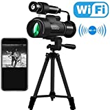 Night Vision Monocular with WiFi Wireless Connect and APP Function,Infrared Night Vision Telescope