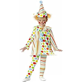 Candy Clown Costume Toddleru0027s Size 2T-4T  sc 1 st  Amazon.com : clown costumes for toddlers  - Germanpascual.Com