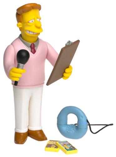 The Simpsons Celebrity Series 1 Phil Hartman as Troy McClure (Simpson Interactive)