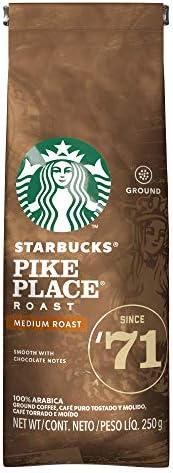 Café Torrado e Moído, Starbucks, Pike Place Roast, 250g