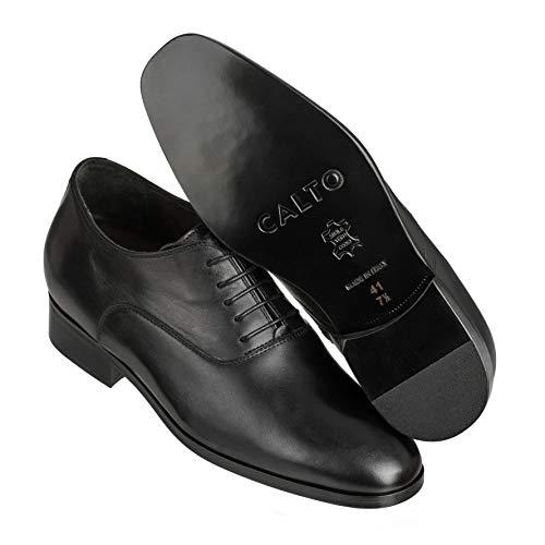 Noir 39 D0225 Calto Noir Homme Bas ST7nxqO