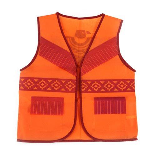 ToySource Dress Up Vest - Non Woven - Native American - Orange Costume Vest]()