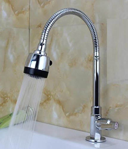 AWXJX Mixer Water Tap kitchen stainless steel Laundry pool Rotating