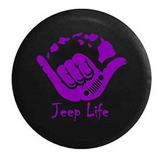 purple jeep wrangler wheel cover - 5