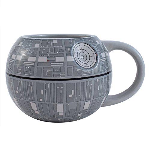 - Silver Buffalo SV9195 Star Wars Death Star 3D Sculpted Ceramic Mug, 20-Ounces
