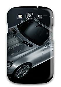 Defender Case For Galaxy S3, Mercedes Transparent Cars Mercedes Pattern