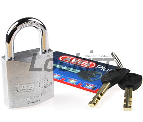 Abus Plus 88 Series Brass Padlock 40mm, Keyed Different
