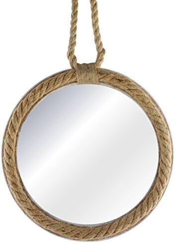 30 cm Espejo de Cuerda Circular PMP