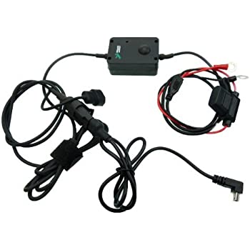 Amazon.com: Motorcycle Battery Hard Wire Charging Cable