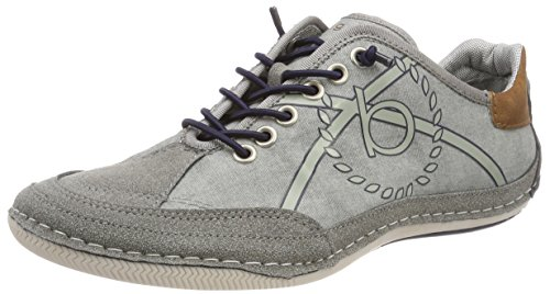 Bugatti Men 321480035400 Trainers Grey (Grey / Cognac 1563)