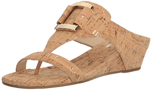 Wedge Donald J Sandal Pliner Daun Women's Natural Platino Z78qP7wI
