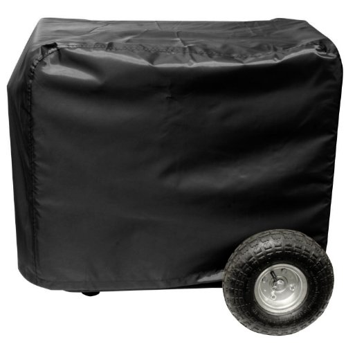 All Weather Protected Outdoor Black Vinyl Generator Cover Me