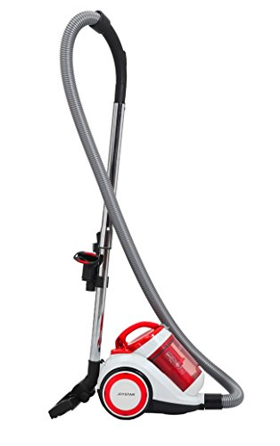 Joysda Bagless Canister Cyclonic Vacuum with HEPA Filter, Co