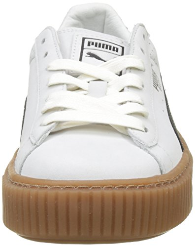 black Perf Blanco Para Basket Zapatillas gold Platform puma Mujer Puma White Gum pvBqfa4xqw