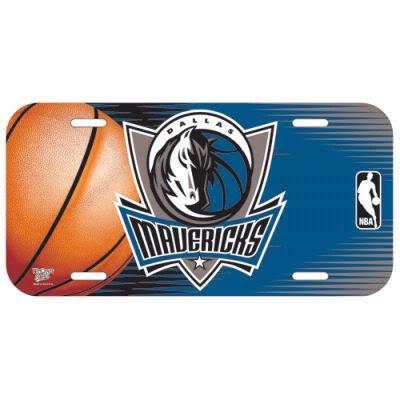 "Offizielles NBA ""Dallas Mavericks"" Schild, Tafel in 15x30 cm WinCraft 84350414"