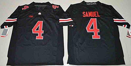 Men's Ohio State Buckeyes Samuel #4 College Football Jersey Black Medium