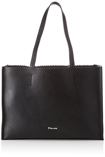 Pollini Damen Sc4531pp04sk100a Shopper, Schwarz (Nero), 0.1x0.1x0.1 cm