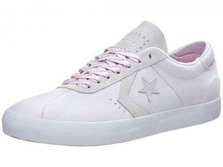 Converse Breakpoint Pro Ox Sneakers Blanc / Blanc / Rose Lueur Hommes 13