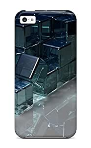 New Arrival Iphone 4/4s Case Cubes Cube D Light Digital Art Case Cover