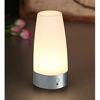 Zeefo retro led night light wireless pir motion sensor activated pir motion sensor night lightlovingvs battery operated retro small cordless led table lamp bar decrative lighting lamps for washstand bedsidebedroom audiocablefo