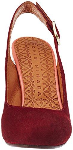 Chie Mihara Kantia, Scarpe Col Tacco con Cinturino Dietro la Caviglia Donna Rouge (Ante Granate-taichi Coral)